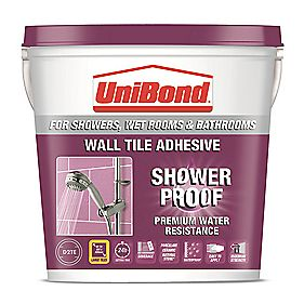 UniBond Waterproof Wall Tile Adhesive 5Ltr