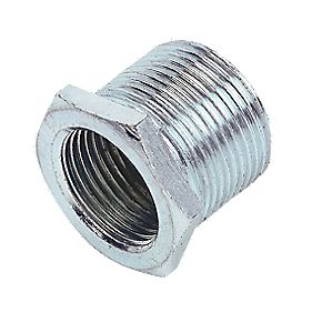 20mm - 25mm Galvanised Reducers - Pk 2