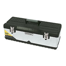 Stanley Galvanised Toolbox 26""