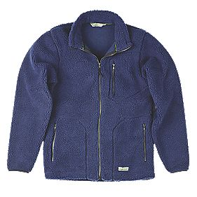 "Work-It Sherpa Jacket Navy Medium 40-42"" Chest"