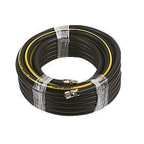 "Professional Air Hose ¼"" BSP Taper Male 50ft"
