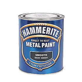 B and Q Smooth Metal Paint 750ml