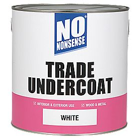 No Nonsense Trade Undercoat White 2.5Ltr