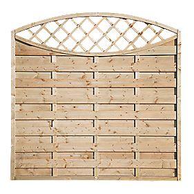 Grange Fencing Elite Eyecatcher Fence Panels 1.8 x 1.8m Pack of 6