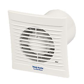 Vent-Axia LoCarbon Silhouette 100B Axial Bathroom Extractor Fan