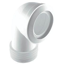McAlpine MACFIT 90° WC Short Pan Connector