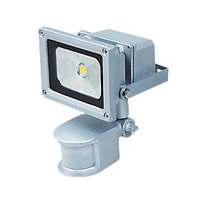 LED Sensor Controlled PIR Floodlight 10W