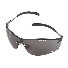 Bolle Safety Silium Smoke Lens Safety Specs