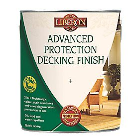 Liberon Water Based Advanced Protection Decking Finish Medium Oak 2.5Ltr