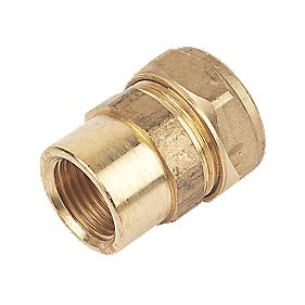 Female Coupler 22mm x ½""