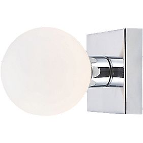 Master Remius Bathroom Wall Light Chrome G9 18W