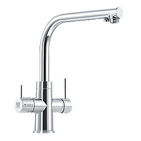 Brita Dolce WD 3020 -Way Sink-Mounted Mono Mixer Kitchen Filter Tap Chrome