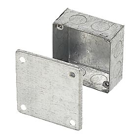 Appleby Adaptable Knockout Box Galvanised 75 x 75 x 37mm