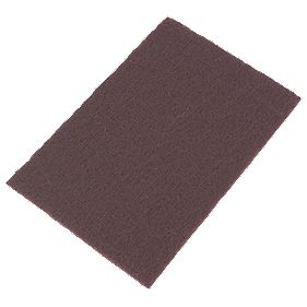 Norton Oakey Non-Woven Hand Sanding Pads Coarse 150 x 230mm Pack of 10