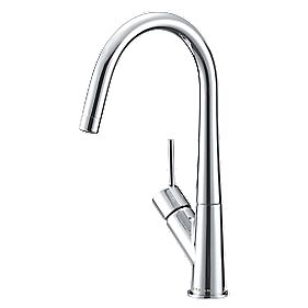 Moretti Side Lever Mono Mixer Kitchen Tap Chrome