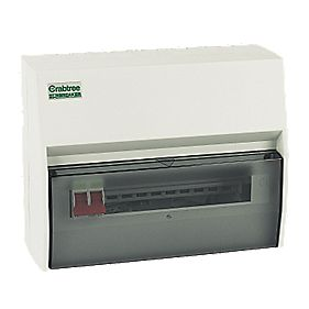 Crabtree 10-Way Fully Insulated Main Switch Consumer Unit