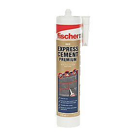 Fischer 523859 Premium Express Cement Repair Filler Sand 310ml