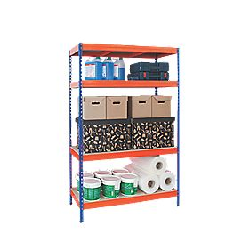 Boltless Freestanding 4-Tier Shelving 1920 x 1200 x 500mm