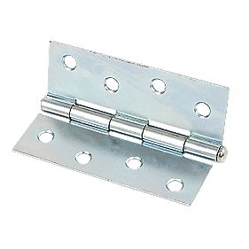 Steel Loose Pin Hinge Zinc-Plated 102mm Pack of 2
