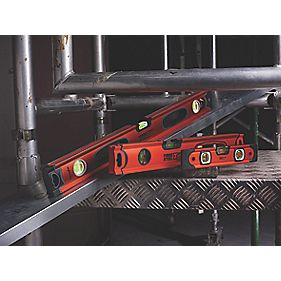 Forge Steel Hi-Vis Box Level Set 3Pcs