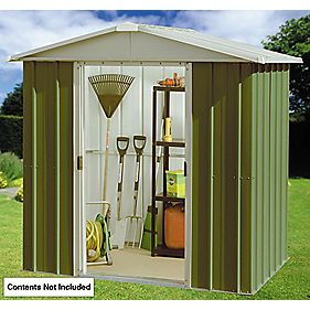 Yardmaster Sliding Door Apex Shed 6 ' 6 x 6' 10 x 5' 10""