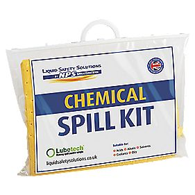 Lubetech Black & White Chemical Spill Response Kit 20Ltr