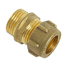Conex Male Iron Coupler 15 x ¾""