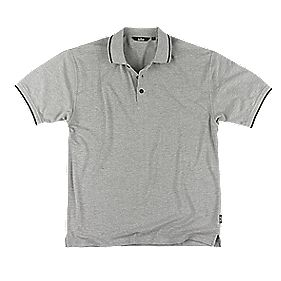 """Site Pepper Polo Shirt Grey X Large 46-48"""" Chest"""