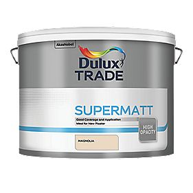 Dulux Trade Supermatt 10L Magnolia