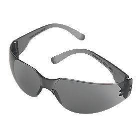 JSP Stealth 7000 Smoke Lens Safety Specs