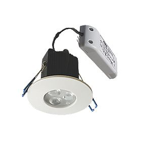Robus Fixed Dimmable LED Downlight Changeable Bezel 9W 240V