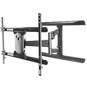 Vivanco LCD TV Dual Arm Wall Mount Large Tilt & Swing 40-65""