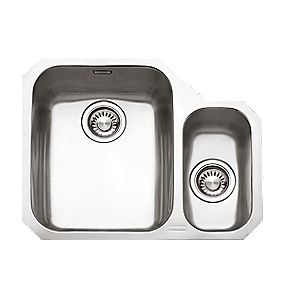 Franke Ariane ARX 160 Stainless Steel 1½ Bowl Undermount Kitchen Sink RH