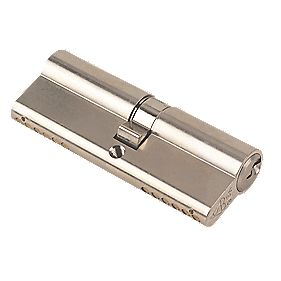Yale KM Series Euro Double Cylinder Lock 40-45 (85mm) Satin Nickel