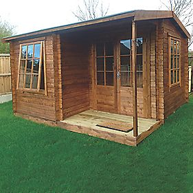 Shire Ringwood Log Cabin 3.6 x 3.6 x 2.5m