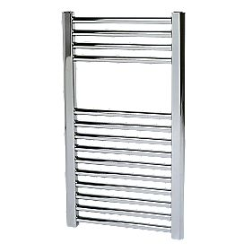 Kudox Flat Towel Radiator Chrome 700 x 400mm 183W 605Btu