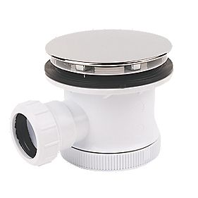 "Opella Domed Shower Waste & Trap 90mm (3"")"