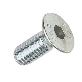 Socket Countersunk Screws BZP M8 x 20mm Pack of 50