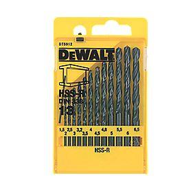 Dewalt 13 Piece HSS-R Drill Bit Set