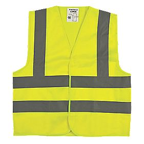 "Hi-Vis Junior Vest (Age 10-12) 35½"" Chest"