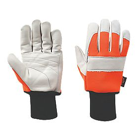 Site Specialist Handling Chainsaw Gloves Size Large