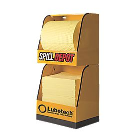 Lubetech 'Spill Depot' 2-Part Modular Dispensing Unit 600 x 450 x 1270mm