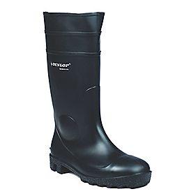 Dunlop Protomastor 142PP Wellington Boots Black Size 10
