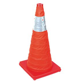 Collapsible Safety Cone 600mm