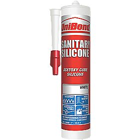 Unibond 1439770 Sanitary Sealant White 300ml