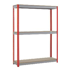 Heavy Duty Shelving 1500 x 450 x 1980mm