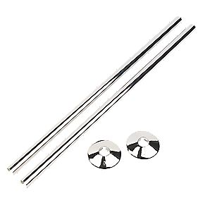 Talon Snappit & Collar Kit 2 x 500mm / 2 x 18mm Chrome
