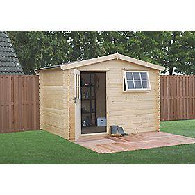 Finnlife Lumi 212 Log Cabin 3.1 x 3.1 x 2.3m