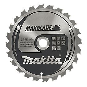 Makita Circular Saw Blade 24T 190 x 20mm