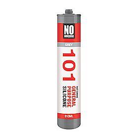 No Nonsense General Purpose Silicone Sealant Grey 310ml